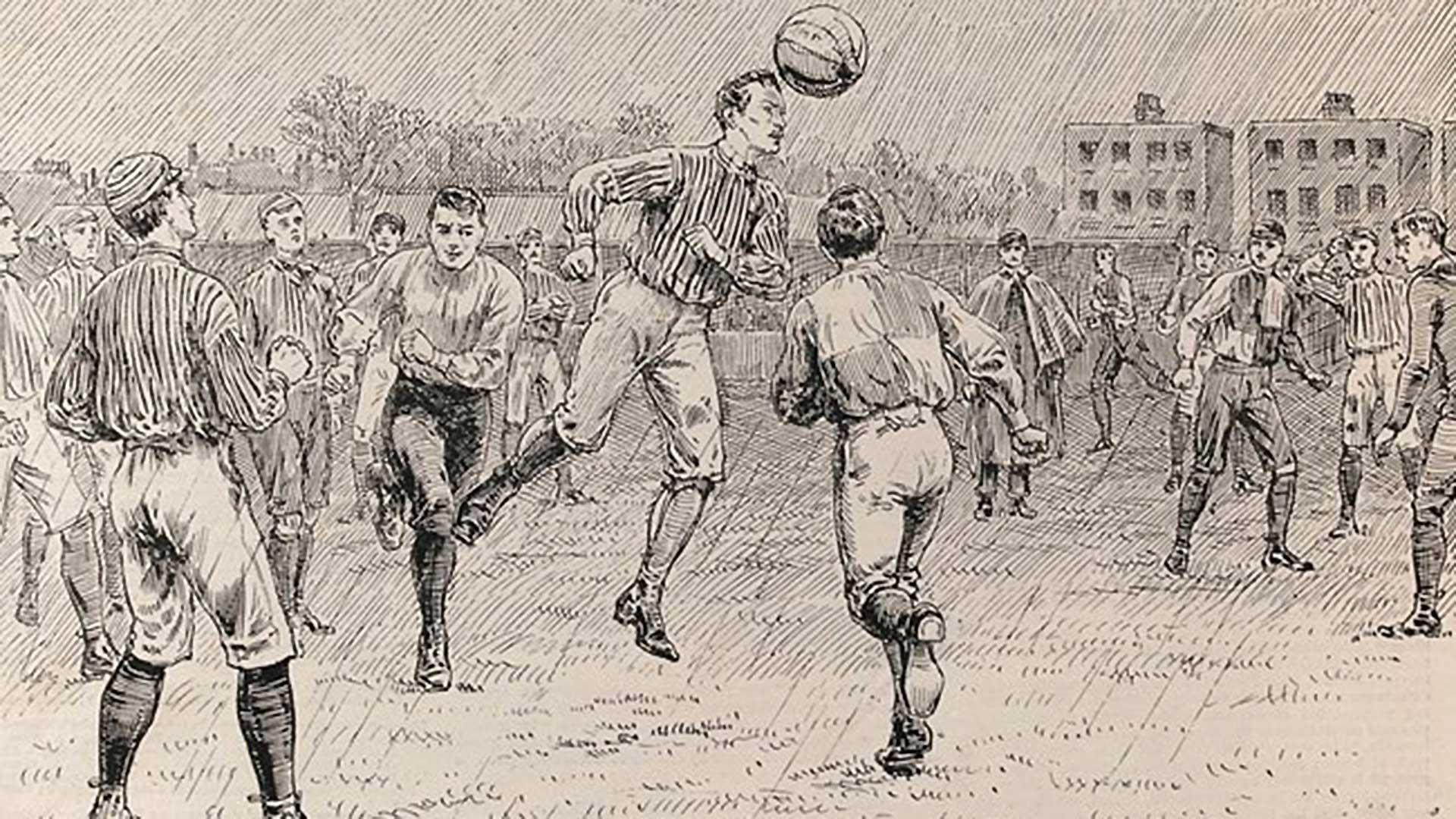 FA CUP. Apr 8, 1872 (Photo: FIFA)