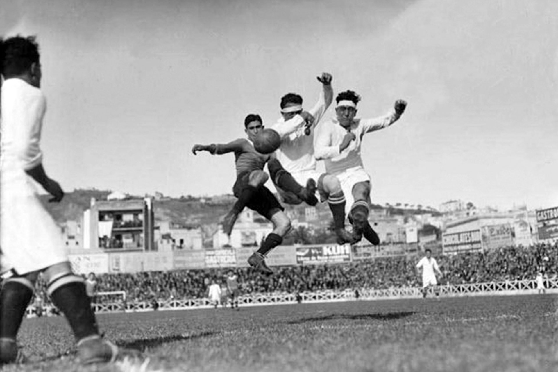 Europeana's Vintage World Cup Photographs