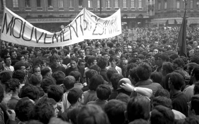 French Footballers and the May 1968 protests