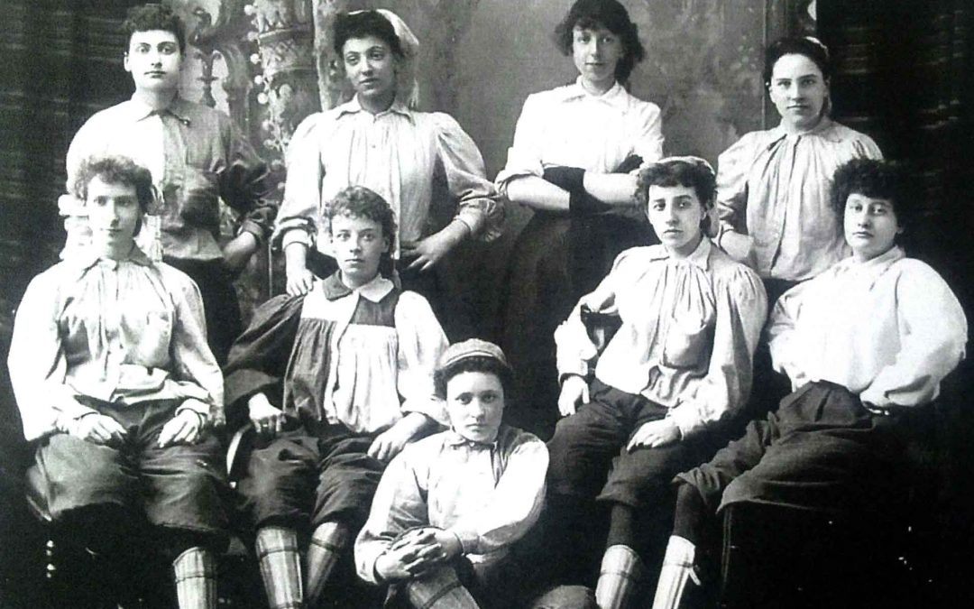 Emma Clarke: England's first black female player?