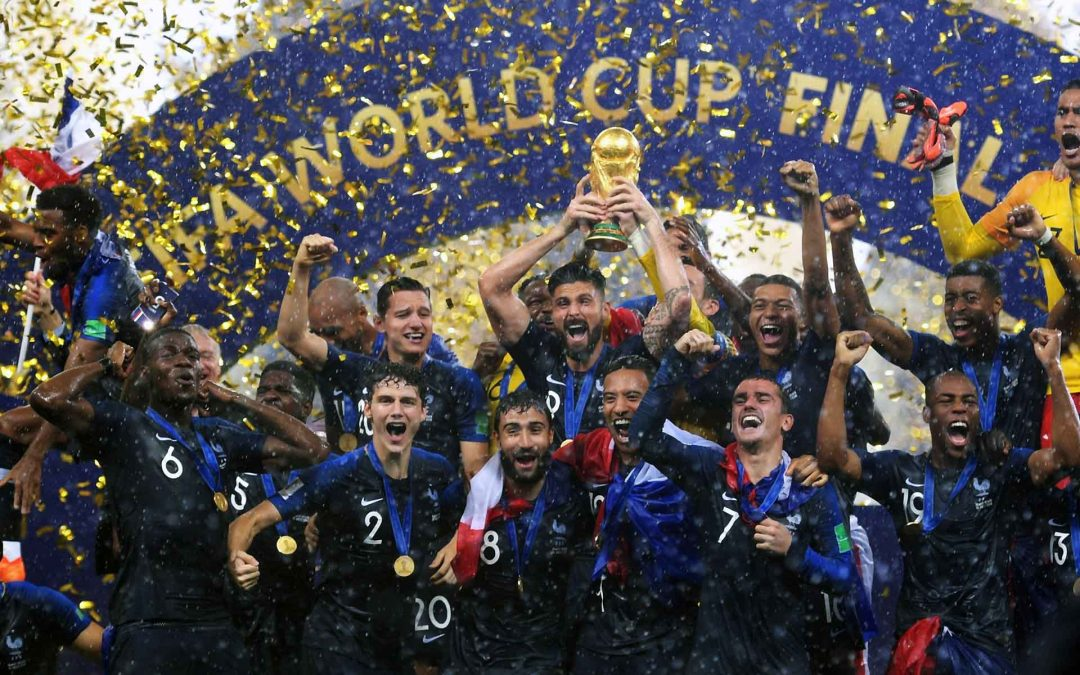 France in the mirror of football