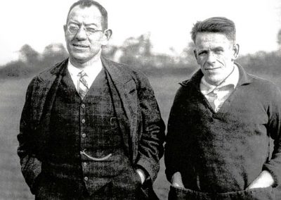 Otto Nerz and Sepp Herberger (Photo: Wikimedia Commons)