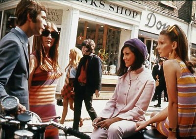 Carnaby Street, at the heart of 'swinging London' in 1966. The National Archives (United Kingdom)