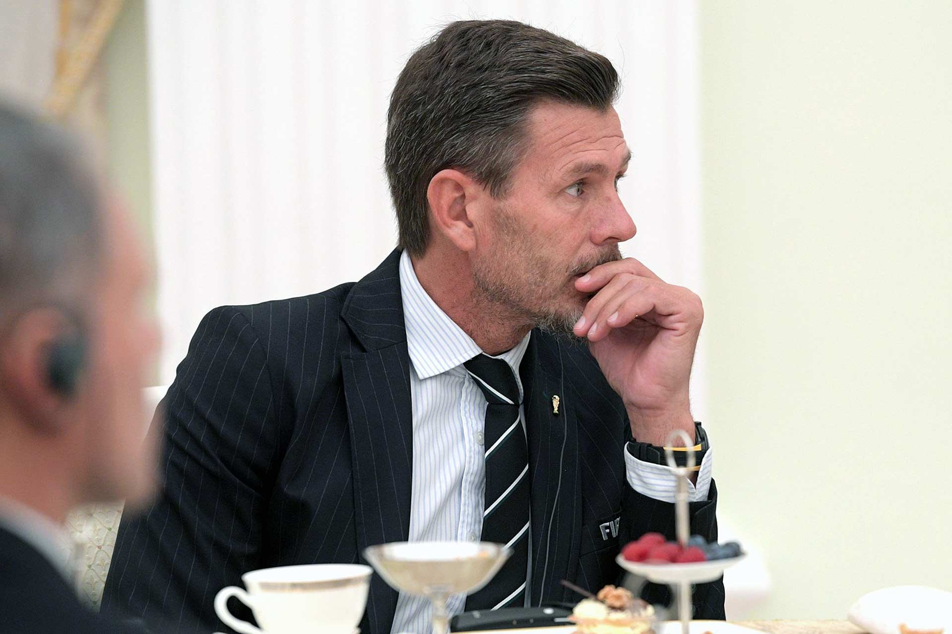 Zvonimir Boban, Croatian soccer player in Moscow during the 2018 Russia World Cup (Source: www.kremlin.ru)