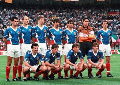 Yugoslavia's national football team in 1990