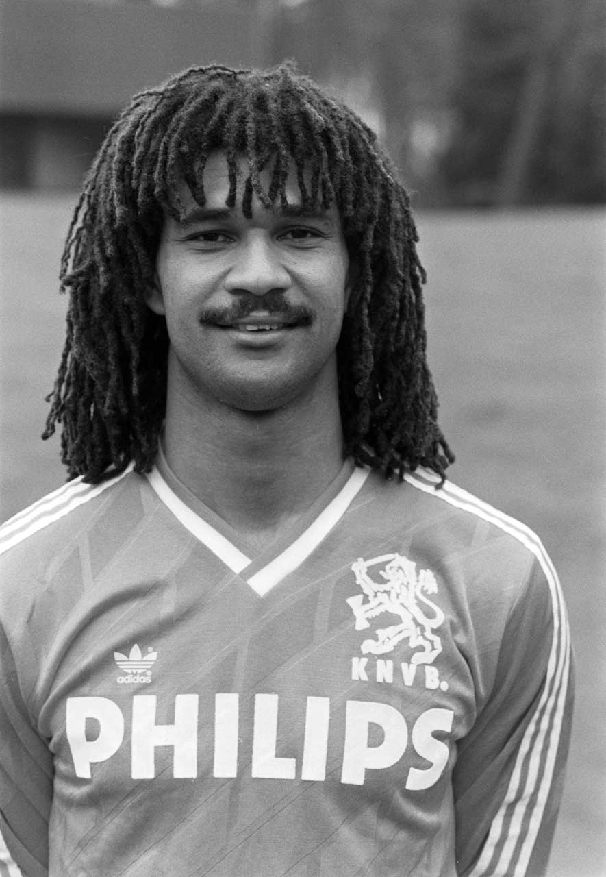 Ruud Gullit; Dutch national team 1988 (Photo: Dutch National Archive)