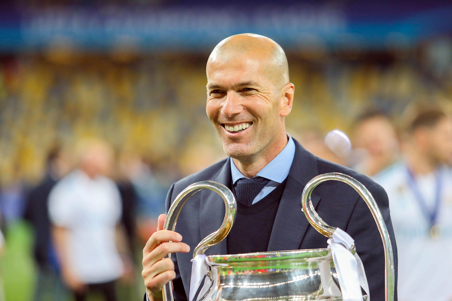 Zinedine Zidane in 2016 (Photo: Oleg Dubyna)