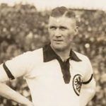 """Otto """"Tull"""" Harder, 18 April 1926 in Dusseldorf against The Netherlands (Photo: Dutch National Archive)"""