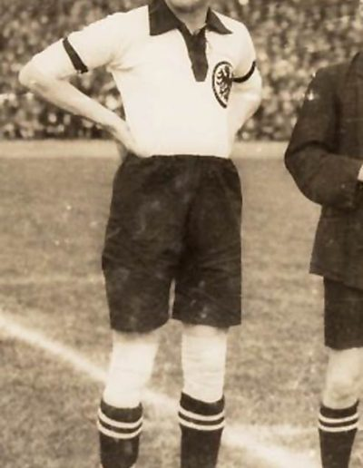 "Otto ""Tull"" Harder, 18 April 1926 in Dusseldorf against The Netherlands (Photo: Dutch National Archive)"