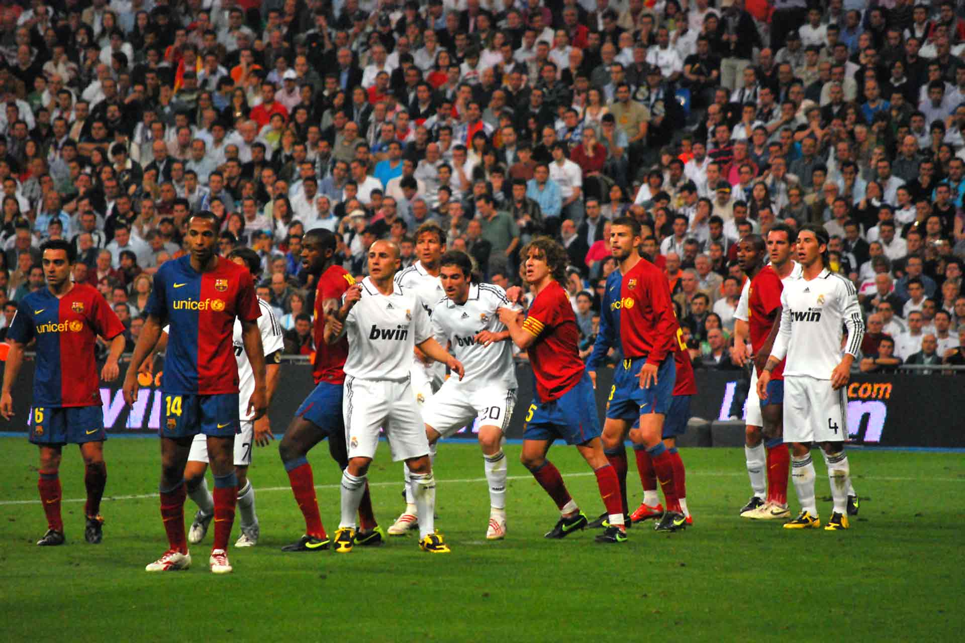 """El Clásico"", 2009 (Photo: Alejandro Ramos / Source: Wikimedia Commons)."