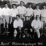 Champions of the AIF cup in 1931, Sprint from Moss.