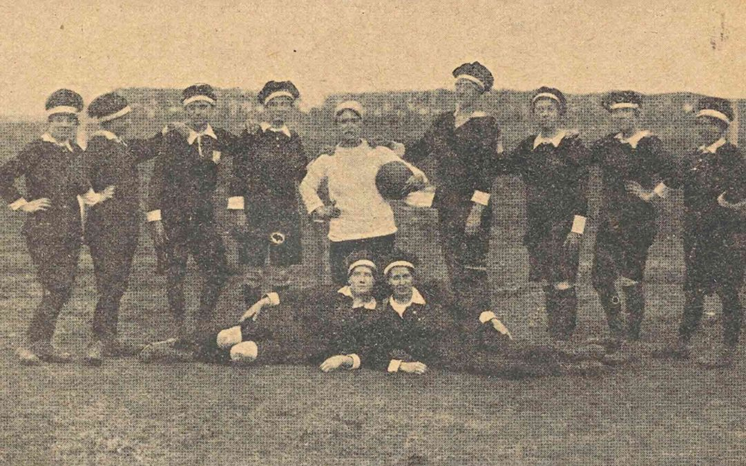 Unpacking women's football history one picture at a time