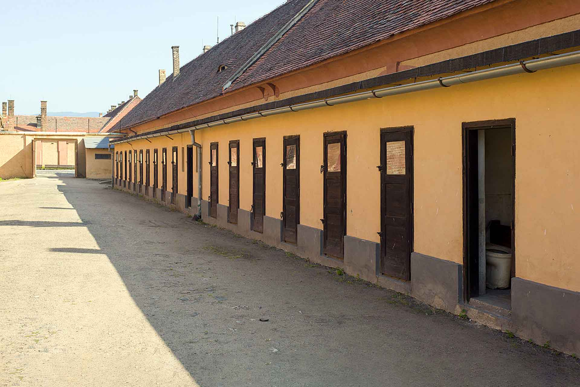 Theresienstadt concentration camp special housing unit.
